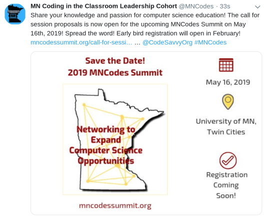 MNCodes Summit-Call for Proposals