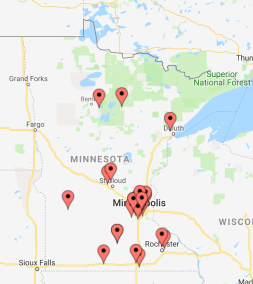 2019-20 Cohort Map